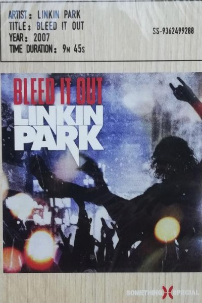 Caratula, cartel, poster o portada de Linkin Park: Bleed It Out (Vídeo musical)