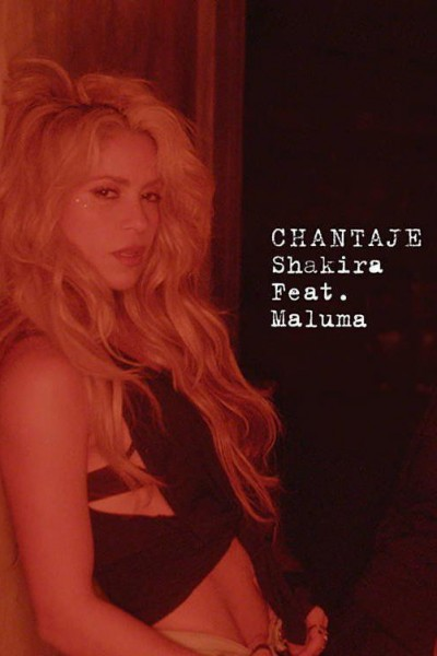 Caratula, cartel, poster o portada de Shakira feat. Maluma: Chantaje (Vídeo musical)