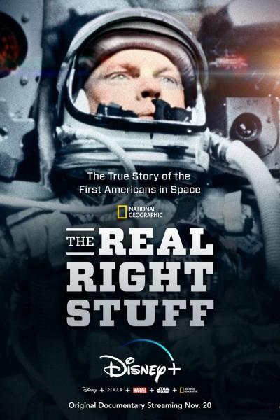 Caratula, cartel, poster o portada de The Real Right Stuff