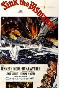 Caratula, cartel, poster o portada de Hundid el Bismarck
