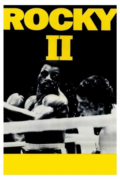 Caratula, cartel, poster o portada de Rocky II