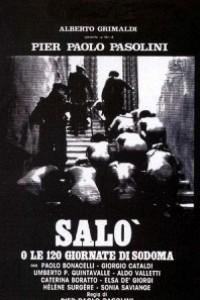Caratula, cartel, poster o portada de Saló, o los 120 días de Sodoma