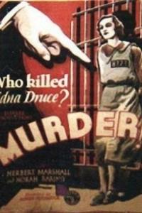 Caratula, cartel, poster o portada de Asesinato (Murder)
