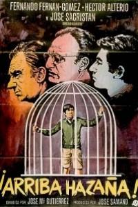 Caratula, cartel, poster o portada de ¡Arriba Hazaña!