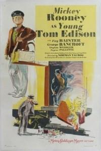 Caratula, cartel, poster o portada de El joven Edison