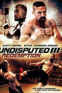 Caratula, cartel, poster o portada de Invicto 3: Redención