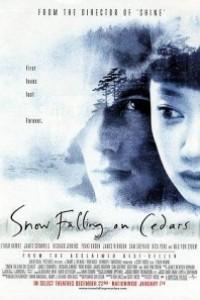 Caratula, cartel, poster o portada de Mientras nieva sobre los cedros
