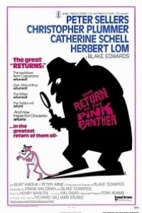 Caratula, cartel, poster o portada de El regreso de la pantera rosa