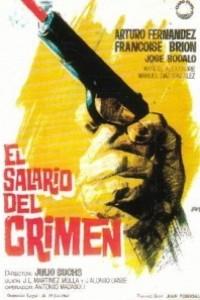 Caratula, cartel, poster o portada de El salario del crimen