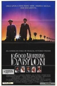 Caratula, cartel, poster o portada de Good Morning, Babilonia