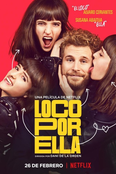 Caratula, cartel, poster o portada de Loco por ella