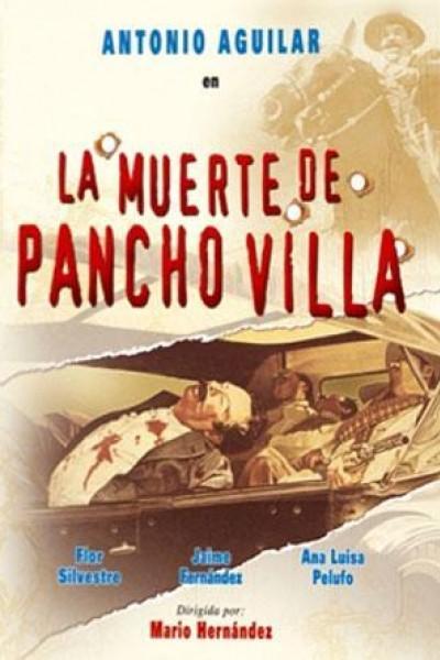 Caratula, cartel, poster o portada de La muerte de Pancho Villa