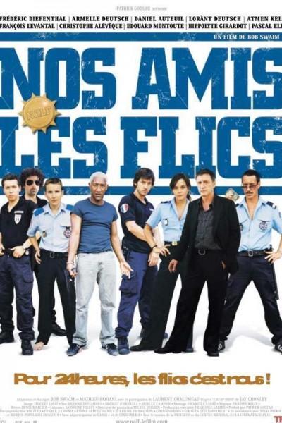 Caratula, cartel, poster o portada de Nos amis les flics