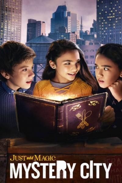 Caratula, cartel, poster o portada de Una pizca de magia en la ciudad misteriosa