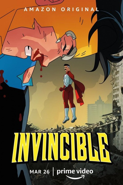 Caratula, cartel, poster o portada de Invencible