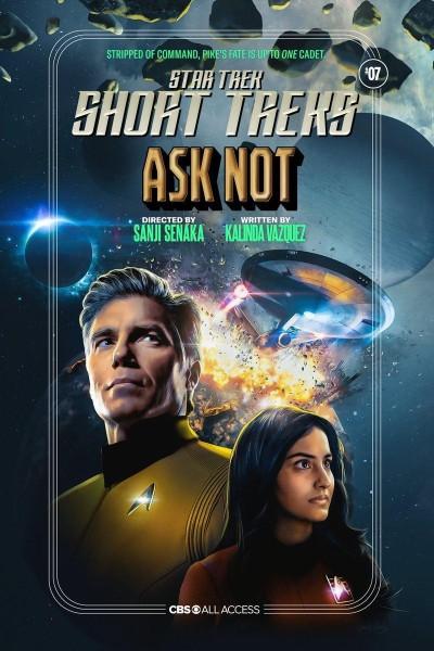 Caratula, cartel, poster o portada de Star Trek: Ask Not (Ep)