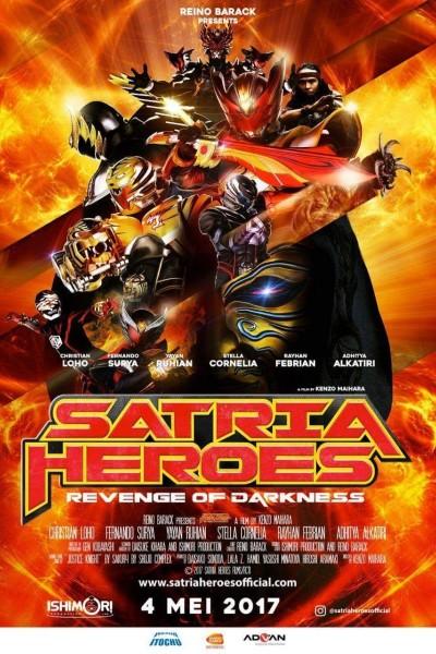 Caratula, cartel, poster o portada de Satria Heroes: Revenge of the Darkness