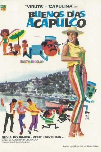 Caratula, cartel, poster o portada de Buenos días, Acapulco