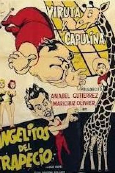 Caratula, cartel, poster o portada de Angelitos del trapecio