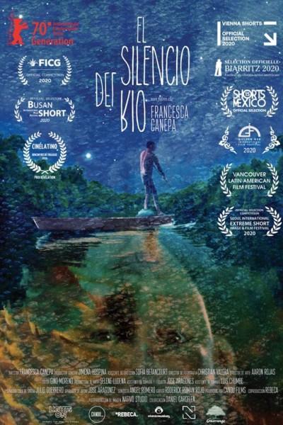 Caratula, cartel, poster o portada de El silencio del río