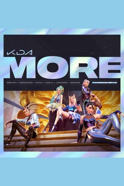Caratula, cartel, poster o portada de K/DA: More (Vídeo musical)
