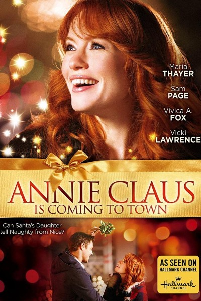 Caratula, cartel, poster o portada de Annie Claus Is Coming to Town