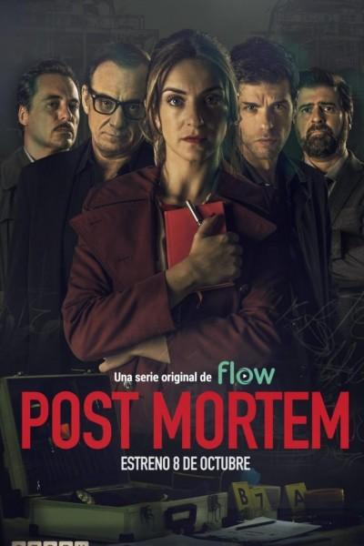 Caratula, cartel, poster o portada de Post mortem