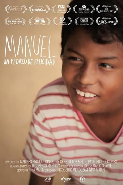 Caratula, cartel, poster o portada de Manuel un pedazo de felicidad