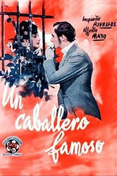 Caratula, cartel, poster o portada de Un caballero famoso