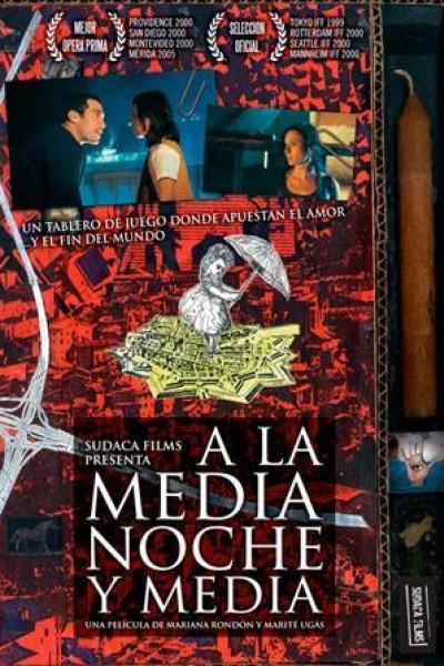Caratula, cartel, poster o portada de A la media noche y media