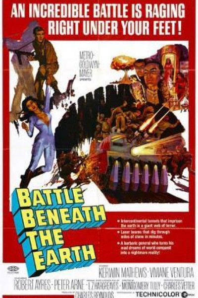 Caratula, cartel, poster o portada de Battle Beneath the Earth