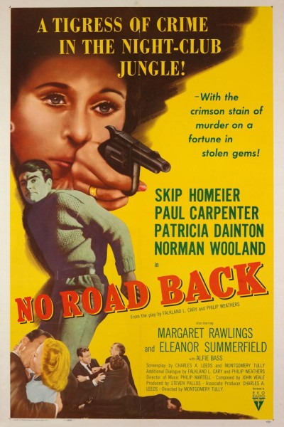 Caratula, cartel, poster o portada de No Road Back
