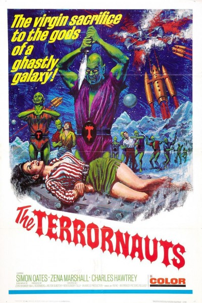 Caratula, cartel, poster o portada de The Terrornauts