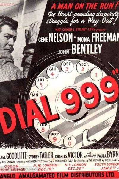 Caratula, cartel, poster o portada de Dial 999