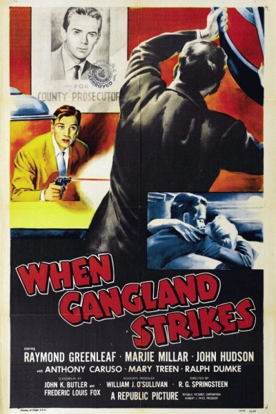 Caratula, cartel, poster o portada de When Gangland Strikes
