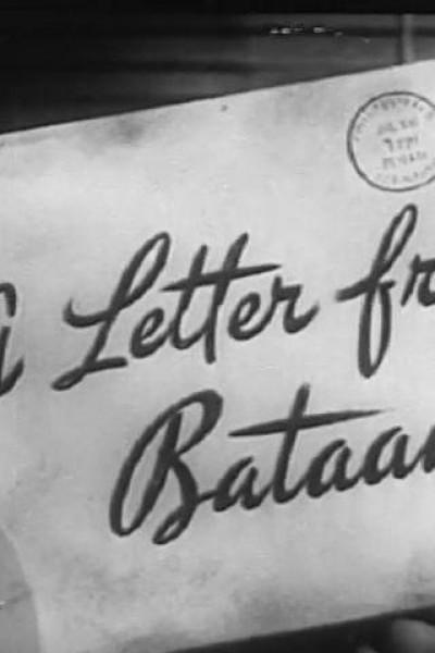 Caratula, cartel, poster o portada de A Letter from Bataan