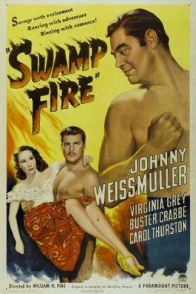 Caratula, cartel, poster o portada de Fuego pantanoso