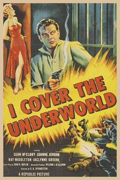 Caratula, cartel, poster o portada de I Cover the Underworld