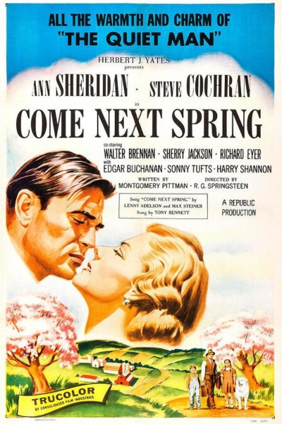 Caratula, cartel, poster o portada de Cuando llegue la primavera