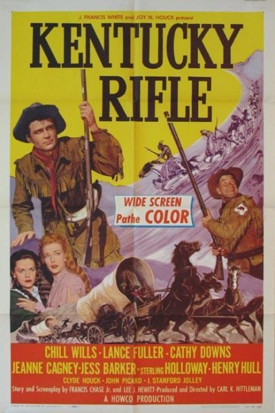 Caratula, cartel, poster o portada de El rifle de Kentucky