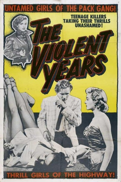 Caratula, cartel, poster o portada de The Violent Years