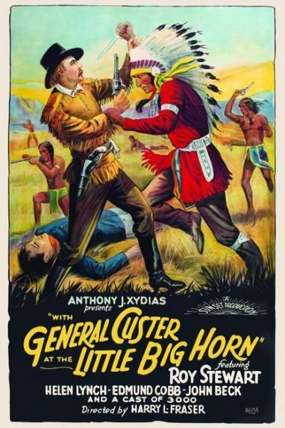 Caratula, cartel, poster o portada de General Custer at the Little Big Horn