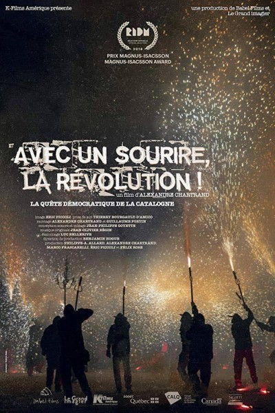 Caratula, cartel, poster o portada de Avec un sourire, la revolution