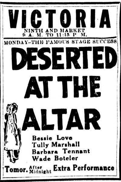 Caratula, cartel, poster o portada de Deserted at the Altar