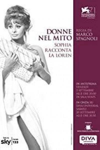 Caratula, cartel, poster o portada de Donne nel mito: Sophia racconta la Loren