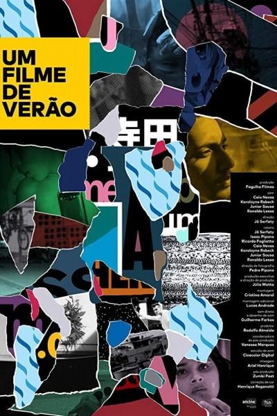 Caratula, cartel, poster o portada de Um Filme de Verão