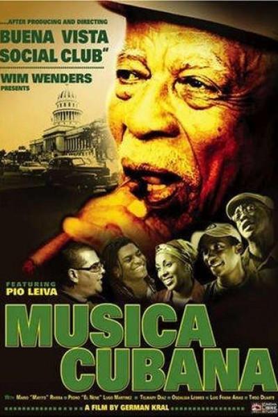 Caratula, cartel, poster o portada de Música Cubana