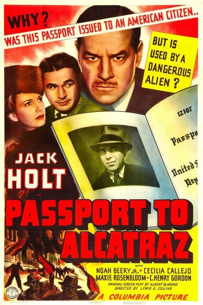 Caratula, cartel, poster o portada de Passport to Alcatraz