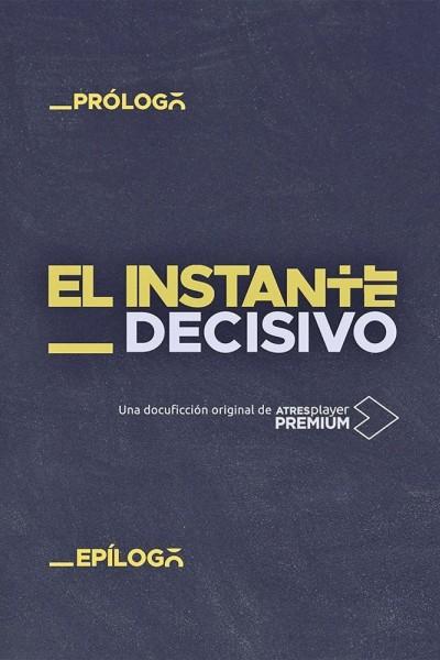 Caratula, cartel, poster o portada de El instante decisivo