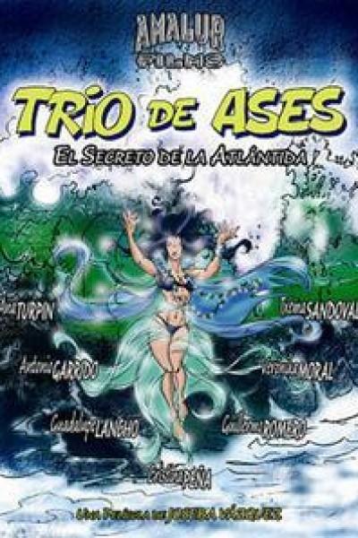 Caratula, cartel, poster o portada de Trío de ases: el secreto de la Atlántida